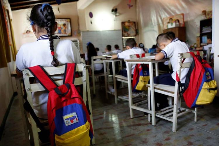 Clases en Venezuela: en marzo volverán los alumnos a las aulas de forma parcial. Foto: Cortesía