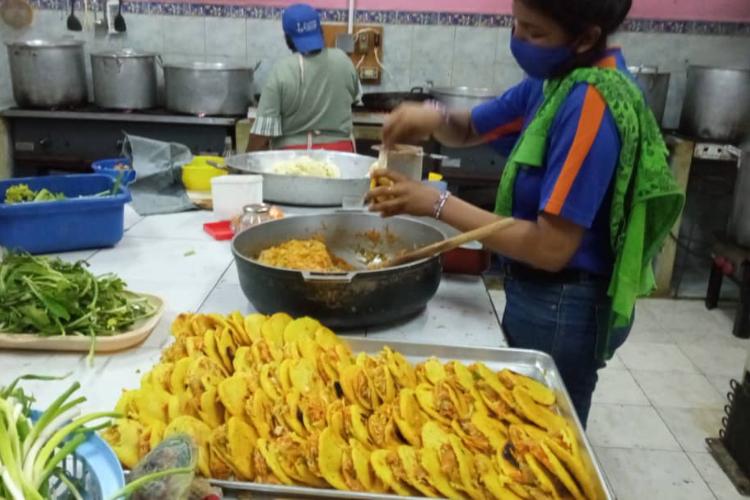 Comedores en Bolívar. Foto: Cortesía