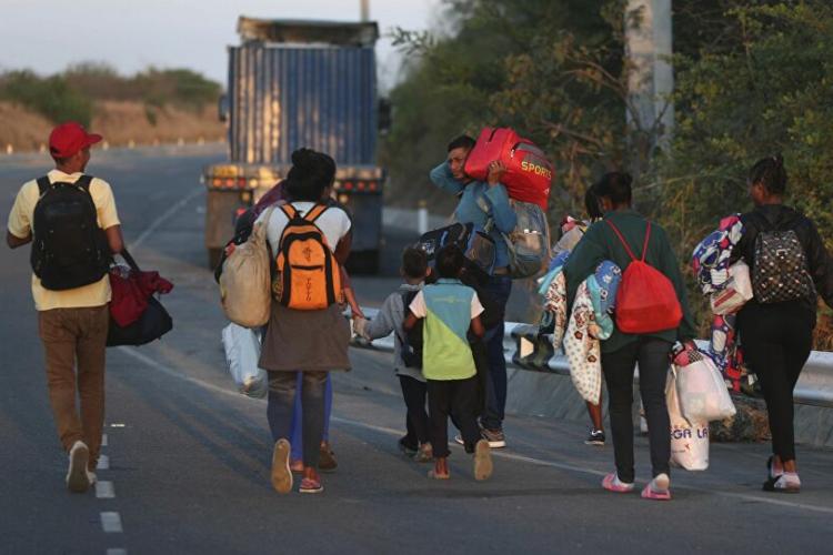 Crisis migratoria venezuela - Foto Referencial
