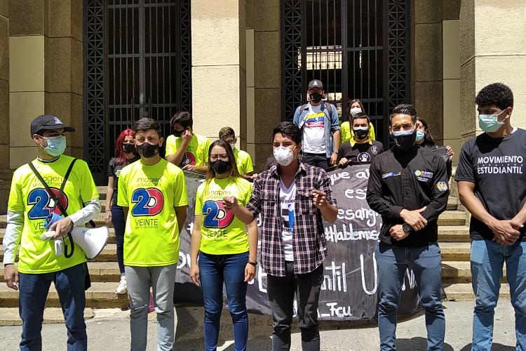 Día de la Juventud en Mérida. Foto: Sandy Zambrano. Todos Ahora