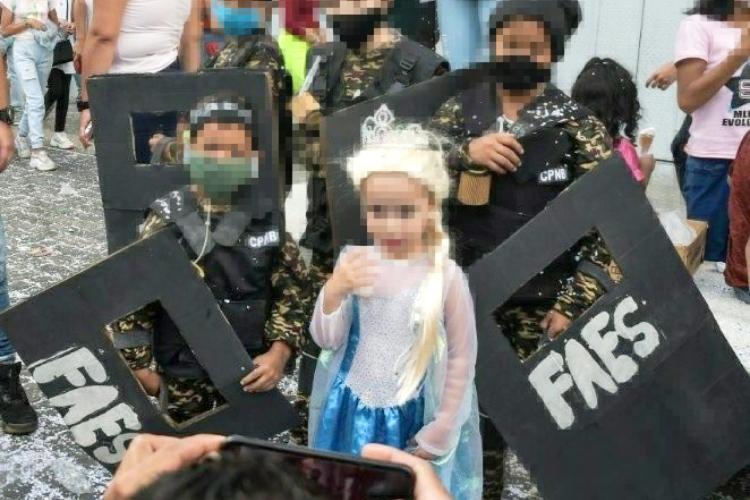 Disfraces de FAES. Foto: Cortesía