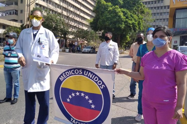 Médicos Unidos de Venezuela capítulo Táchira. Foto: William Anteliz