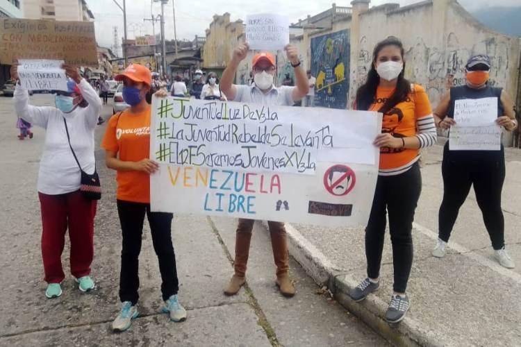 Mérida: reclaman por cortes eléctricos en el estado. Foto: Sandy Zambrano. Todos Ahora