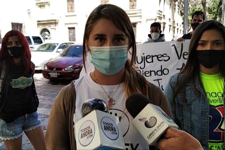 Mérida: rechazaron feminicidios. Foto: Sandy Zambrano. Todos Ahora