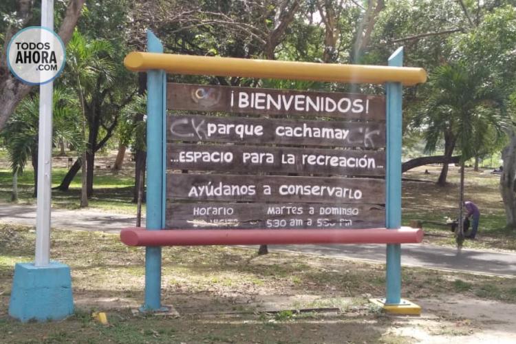 Parques de Puerto Ordaz en completo abandono