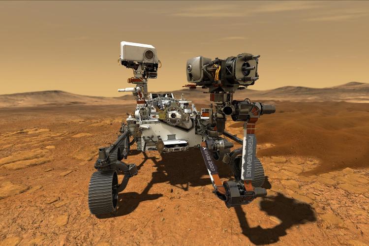 Perseverance, el ambicioso proyecto de la NASA. Foto: Cortesía