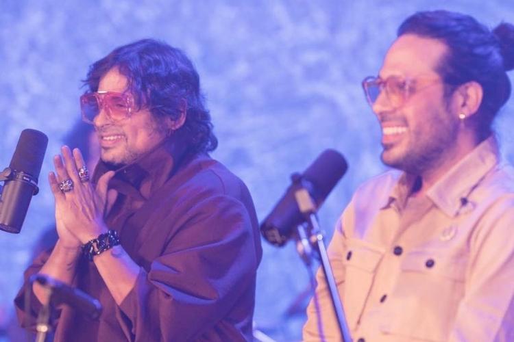 Servando y Florentino en concierto. Foto: OK Venezuela