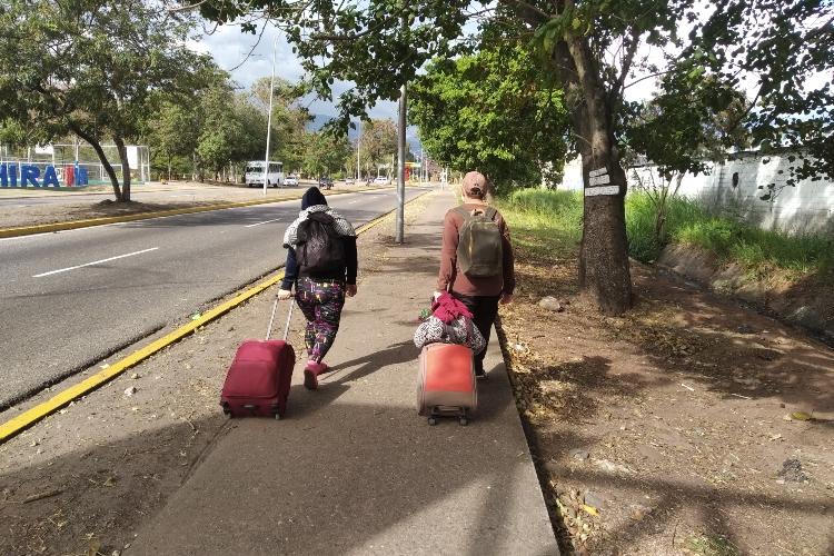 Migrantes venezolanos. Foto: Abraham Blanco Todos Ahora