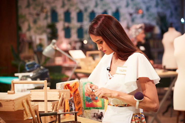 Yelimar Moreno, venezolana en Maestros de la Costura