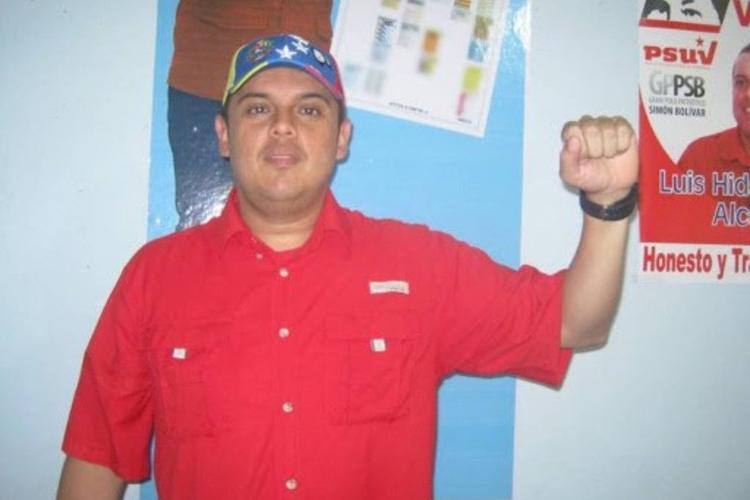 Luis Hidalgo, alcalde de Boconó, en Trujillo. Foto: Cortesía