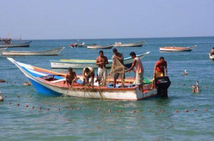 Pescadores en Margarita