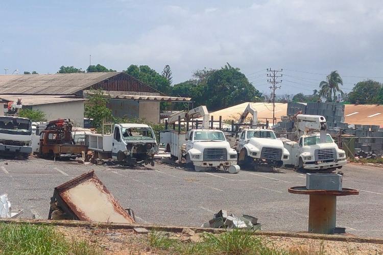 Sucre, camiones, Corpoelec