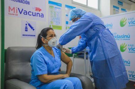 Colombia. Vacunación. Fotos: Ministerio de Salud de Colombia