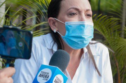 María Corina Machado, coordinadora nacional de Vente Venezuela. Foto: William Anteliz. Todos Ahora