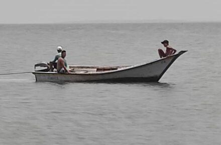 Pescadores en Nueva Esparta. Foto: Cortesía