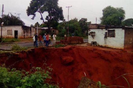 Cárcavas en Ciudad Guayana