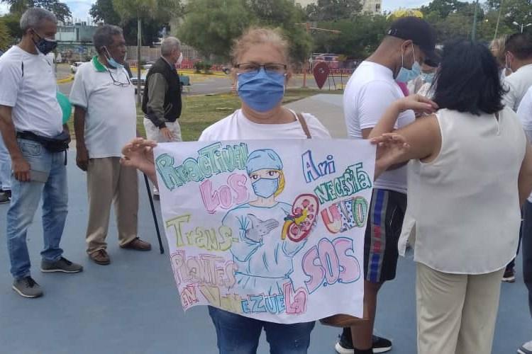 Joven trasplante en Venezuela
