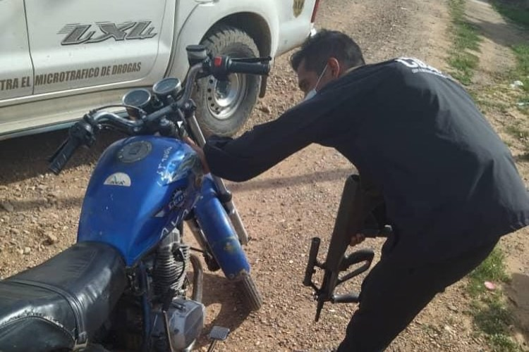 Robo de motos en Carora