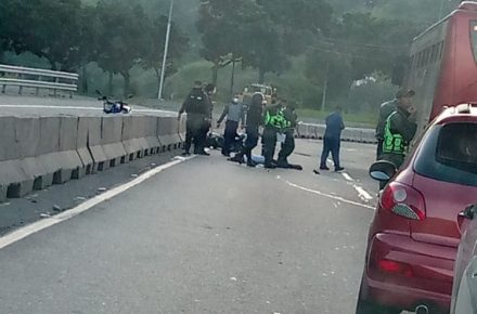 PNB murió en la Caracas-La Guaira