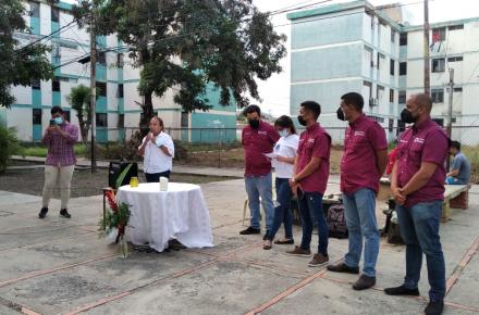 Homenaje a los caídos en manifestaciones en Barquisimeto.