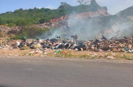 Vertedero de basura en Sucre