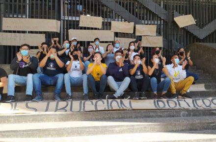 Estudiantes rechazan a Tibisay Lucena
