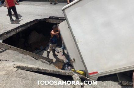 Cedió calle en Altavista