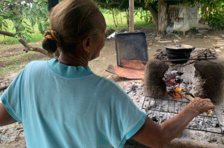 Cocinar con leña en Zulia