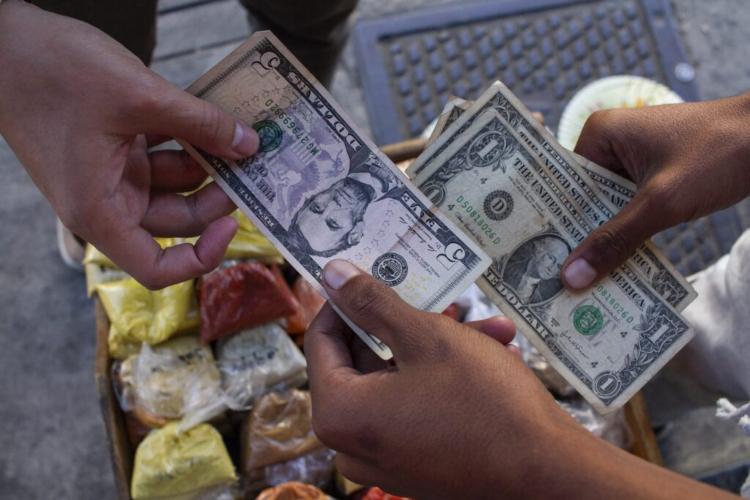 Negocio de efectivo en Bolívar