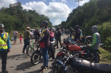 Protesta Sucre de pescadores