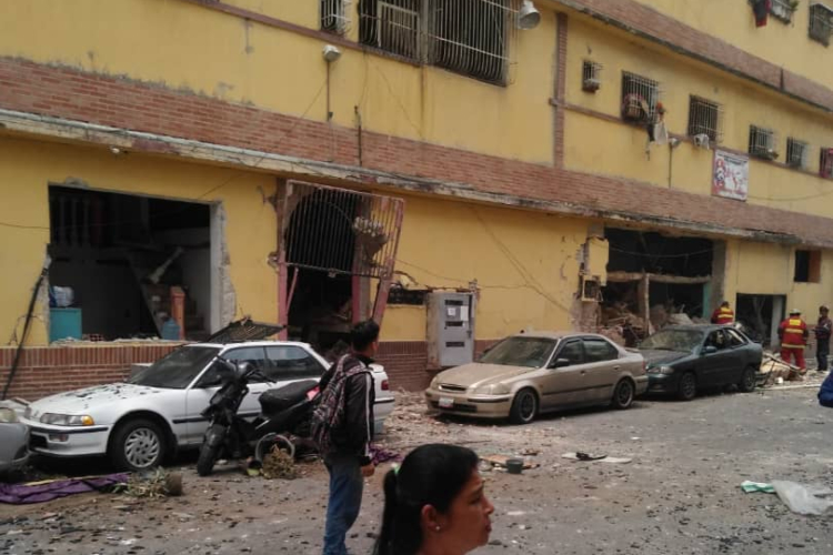San Martín, explosión en Artigas