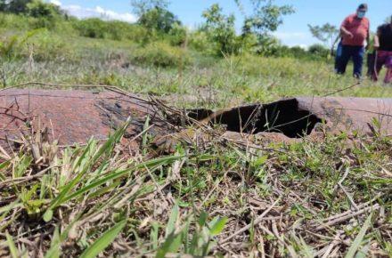 rotura de tubo matriz en Río Negro, en Machiques de Perijá